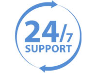 24/7 Suppport